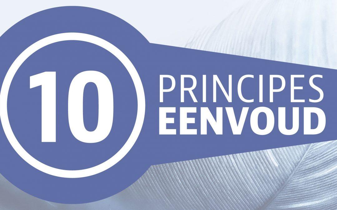 Tien principes voor eenvoud | Waardevolle Eenvoud